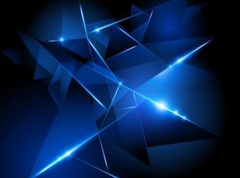 Fondo abstracto hecho con formas azules.