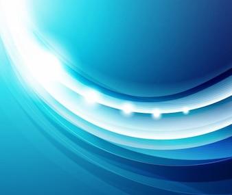 Fondo abstracto liso azul