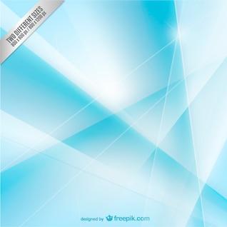 Fondo abstracto poligonal cyan