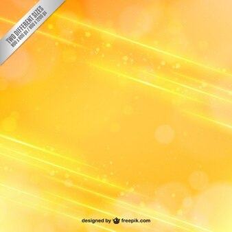 Fondo amarillo en estilo abstracto