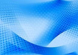 Fondo azul abstracto del arte del vector