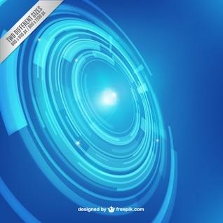 Fondo azul de tecnología