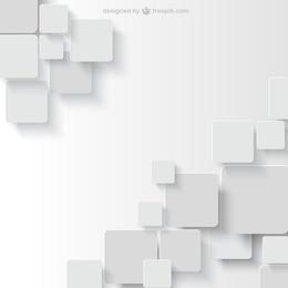 Fondo blanco en estilo geométrico
