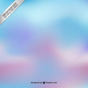 Fondo borroso en tonos azules y morados