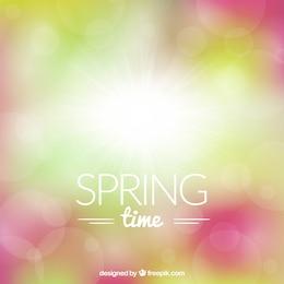 Fondo brillante de primavera