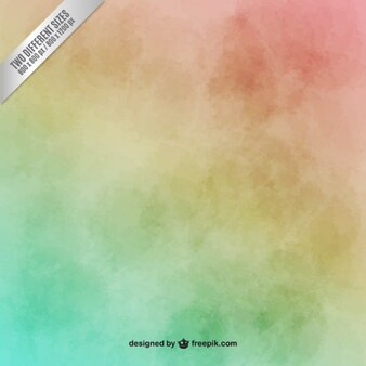 Fondo colorido de acuarela