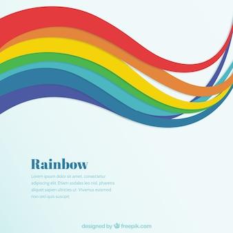 Fondo de arco iris