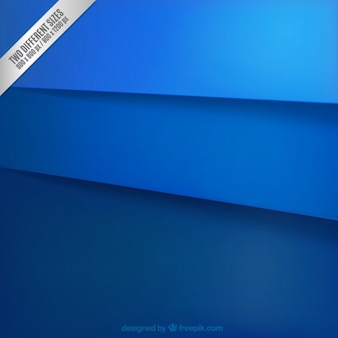 Fondo de capas azules de papel