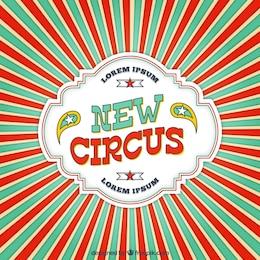Fondo de circo nuevo