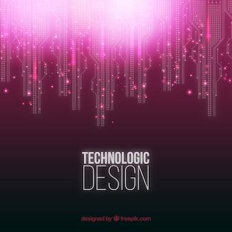 Fondo de diseño Tecnológico