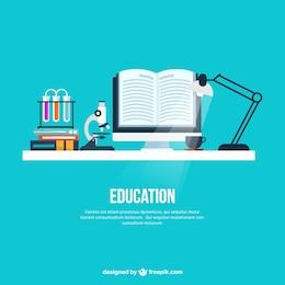 Fondo de escritorio educación