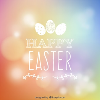 Fondo de Feliz Pascua