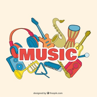 Fondo de festival de música