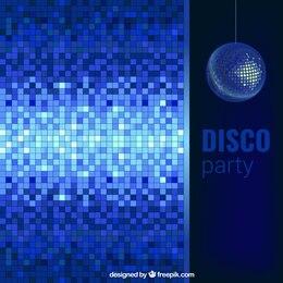 Fondo de fiesta disco