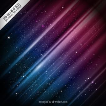 Fondo de galaxia colorida