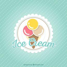 Fondo de helado