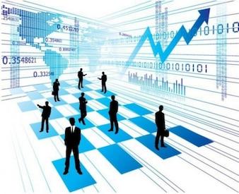 Fondo de la estrategia de negocio