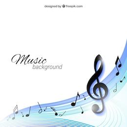 Fondo de la música
