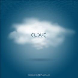 Fondo de la nube