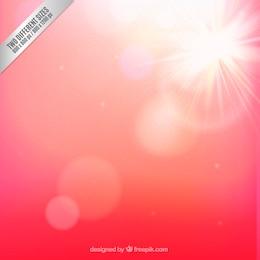 Fondo de luz solar