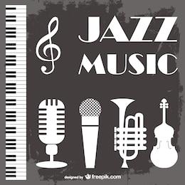 Fondo de música jazz