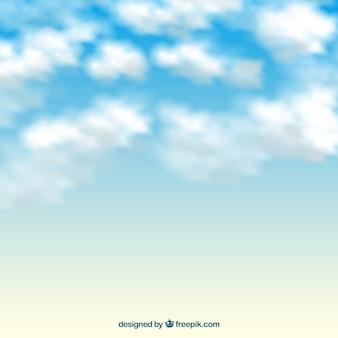 Fondo de nubes