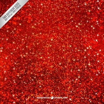 Fondo de purpurina en color rojo