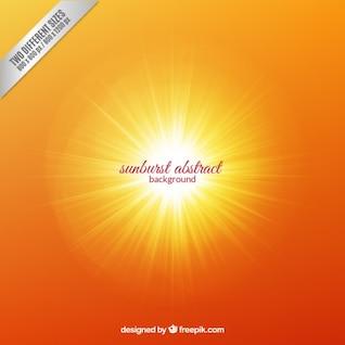 Fondo de rayos de sol