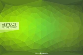 Fondo de triángulos, imagen vectorial