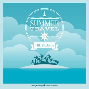 Fondo de viajes de verano