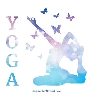 Fondo de yoga