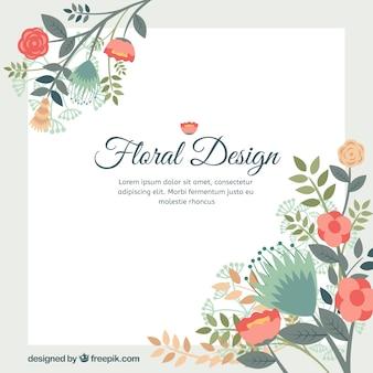 Fondo del diseño floral