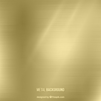 Fondo del metal en tono dorado