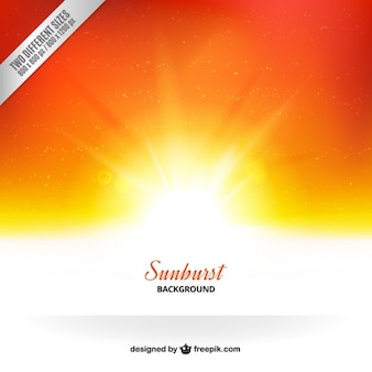 Fondo del resplandor solar