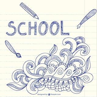 Fondo dibujos de escuela