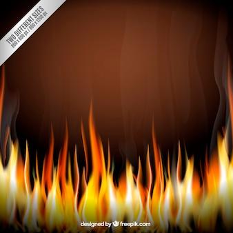 Fondo en llamas