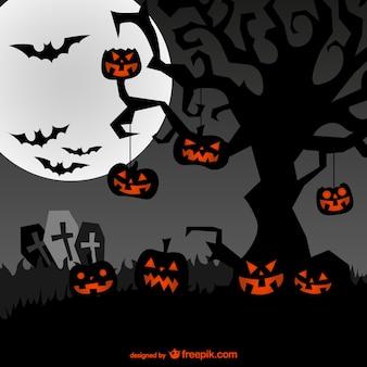 Fondo espeluznante para Halloween