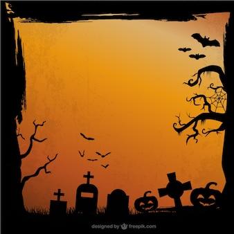 Fondo grunge de Halloween