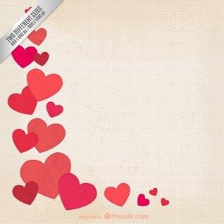 Fondo grunge de San Valentín