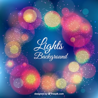 Fondo luces