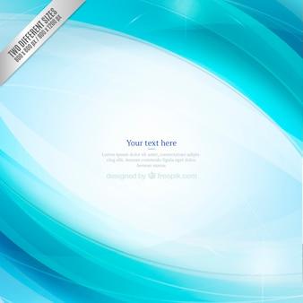Fondo plantilla abstracto azul