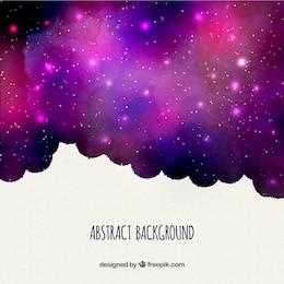 Fondo púrpura nebulosa
