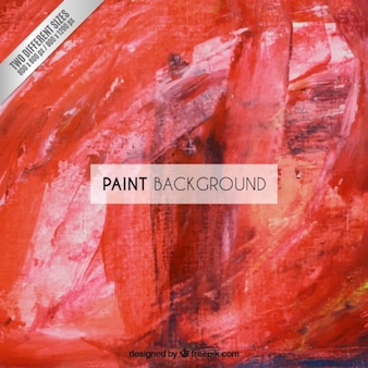 Fondo rojo de pintura