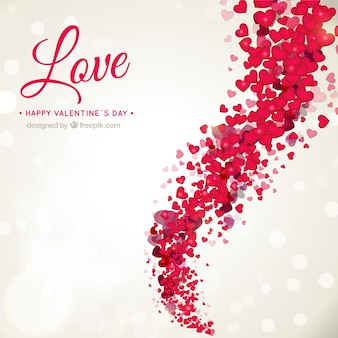 Fondo romántico de San Valentín