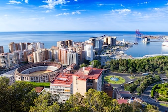 Foto de la ciudad desde alto