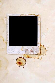 Foto instantánea con manchas