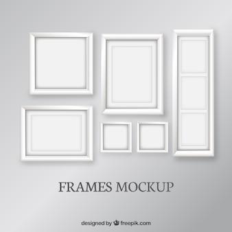 Conjunto marcos maqueta