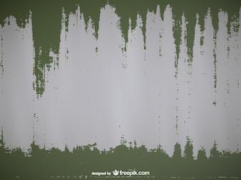 Textura de metal con pintura verde