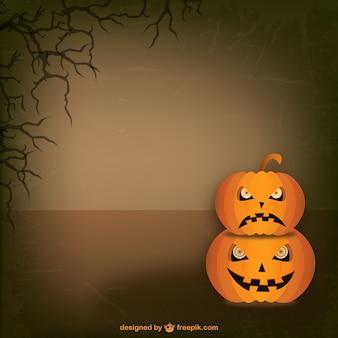 Plantilla de calabazas de Halloween