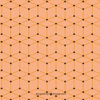 Patrón naranja editable